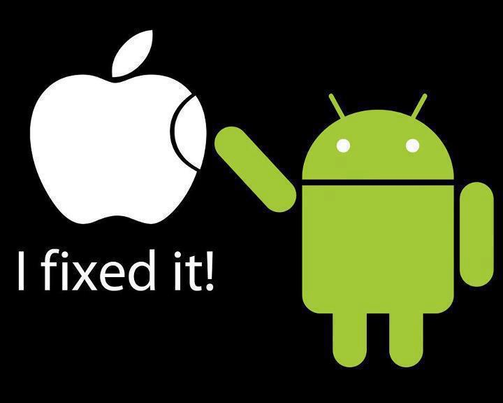 Android Updates Apple